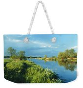 Marshlands In Spring, Unteres Odertal Weekender Tote Bag