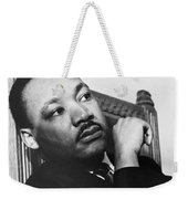Martin Luther King, Jr Weekender Tote Bag by Photo Researchers