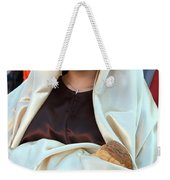 Mary And Baby Jesus At The Christmas March In Bethlehem Weekender Tote Bag