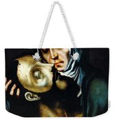 Mary And Jesus Painting At Peace Center Weekender Tote Bag