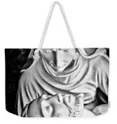 Mary Cradling Jesus Weekender Tote Bag