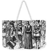 Mary Dyer, D.1660 Weekender Tote Bag by Granger