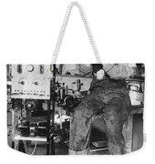Mary Loomis, Radio School Operator Weekender Tote Bag