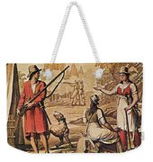 Mary Read And Anne Bonny, 18th Century Weekender Tote Bag