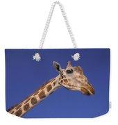 Masai Giraffe, Serengeti, Africa Weekender Tote Bag