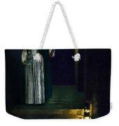Masked Lady Weekender Tote Bag