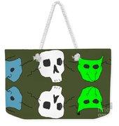 Masks Weekender Tote Bag