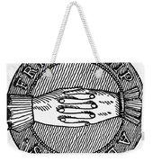Masonic Symbol Weekender Tote Bag