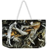 Mass Grave Weekender Tote Bag by Donna Blackhall