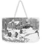 Massachusetts: Blizzard Weekender Tote Bag