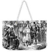 Massasoit (d. 1661) Weekender Tote Bag
