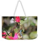 Mating Dragonfly Weekender Tote Bag