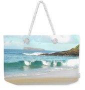 Maui Hawaii Beach Weekender Tote Bag by Rebecca Margraf