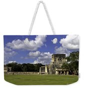 Mayan Ball Court Weekender Tote Bag