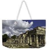 Mayan Colonnade Weekender Tote Bag