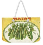 Mayan Peas Weekender Tote Bag