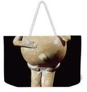 Mayan Rattle, 200-900 A.d Weekender Tote Bag