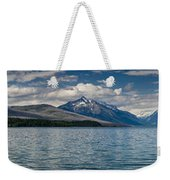Mcdonald Lake Super Panorama Weekender Tote Bag