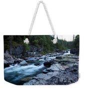 Mcdonald River Glacier National Park - 3 Weekender Tote Bag