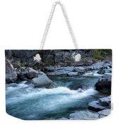 Mcdonald River Glacier National Park - 4 Weekender Tote Bag