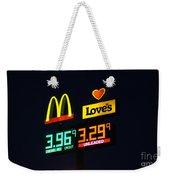 Mcdonalds Loves Gas Weekender Tote Bag
