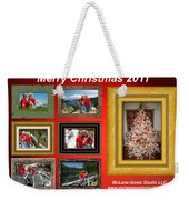 Mclanegoetz Studio Christmas Card Weekender Tote Bag