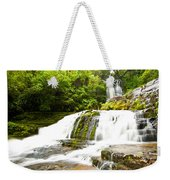 Mclean Falls In The Catlins Of South New Zealand Weekender Tote Bag
