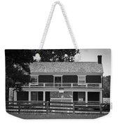 Mclean House Bw Appomattox Virgnia Weekender Tote Bag