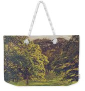 Meadow Scene  Weekender Tote Bag by John William Buxton Knight