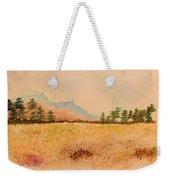 Meadow Wildflowers - Watercolor Weekender Tote Bag
