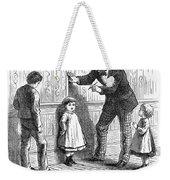 Measuring Children, 1876 Weekender Tote Bag
