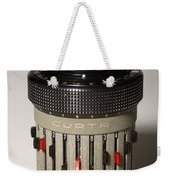Mechanical Calculator Weekender Tote Bag