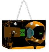 Mechanical Oculist Green Weekender Tote Bag