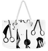 Medical Instruments, 18th Century Weekender Tote Bag