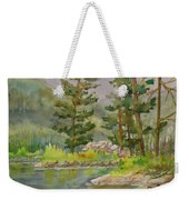Medicine Lake Jasper Weekender Tote Bag