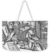 Medieval Arithmetic Weekender Tote Bag