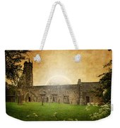 Medieval Church Weekender Tote Bag
