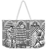 Medieval Mathematicians Weekender Tote Bag