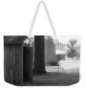 Meeks Outhouse Weekender Tote Bag