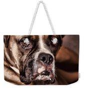 Meet Rocky Weekender Tote Bag by Deborah Benoit