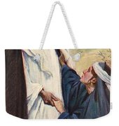 Meeting Of Jesus And Martha Weekender Tote Bag
