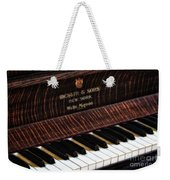 Mehlin And Sons Piano Weekender Tote Bag
