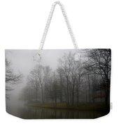 Melancholy Foggy Evening Weekender Tote Bag