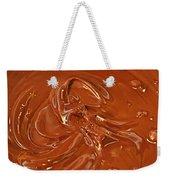 Melted Chocolate Weekender Tote Bag