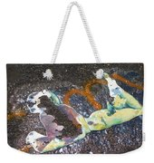 Melted Pin Up Girl Weekender Tote Bag