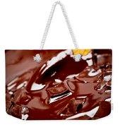 Melting Chocolate And Spoon Weekender Tote Bag