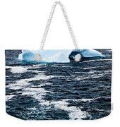 Melting Iceberg Weekender Tote Bag by Elena Elisseeva