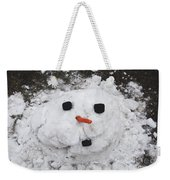 Melting Snowman Weekender Tote Bag