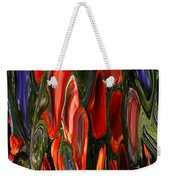 Melting Wax Weekender Tote Bag