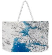 Meltwater Lakes On Hubbard Glacier Weekender Tote Bag